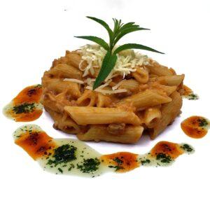 producto precocinado congelado macarrones boloñesa con beichamel i queso