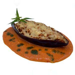 plato precocinado quinta gama berengenas rellenas de carne