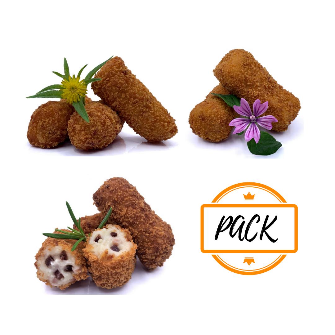 pack varietat de croquetes congelades 5 gamma