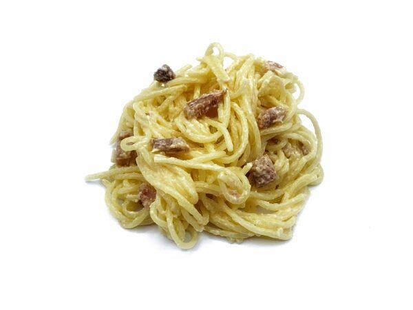 plato precocinado espaguetis con salsa carbonara