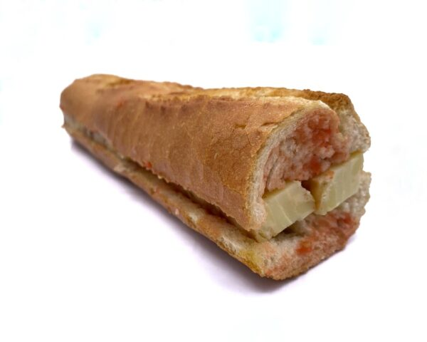Bocadillo precocinados congelados de tortilla