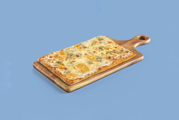 pizza apta para vegetarianos congelada, cocapizza de 5 quesos